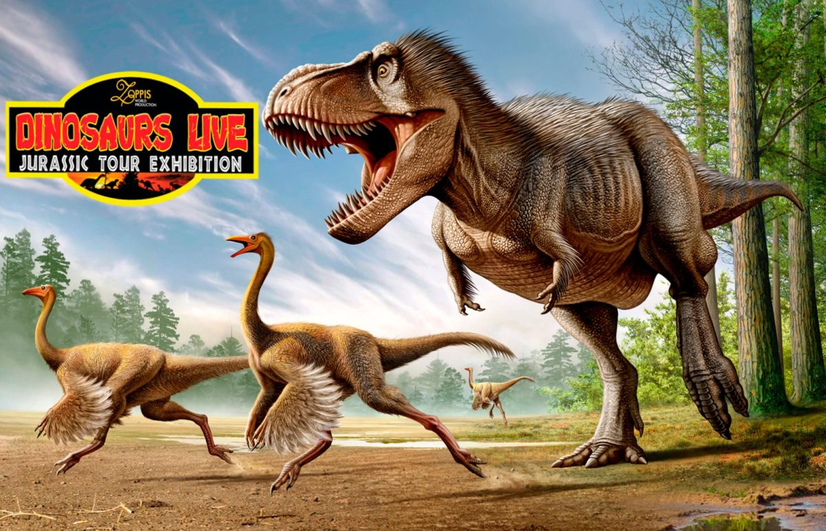 Dinosaurs Live, T-Rex a caccia