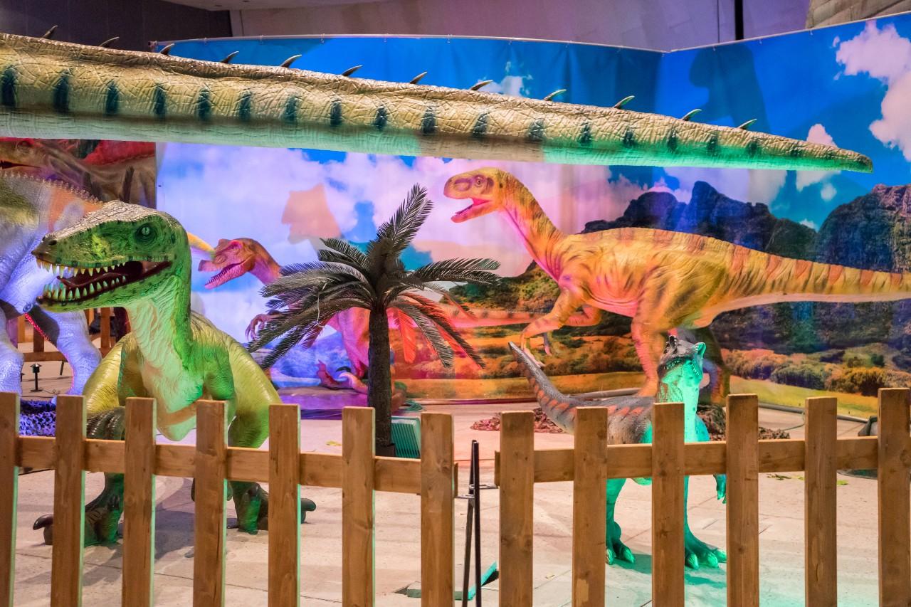 Dinosaurs Live, l'esposizione
